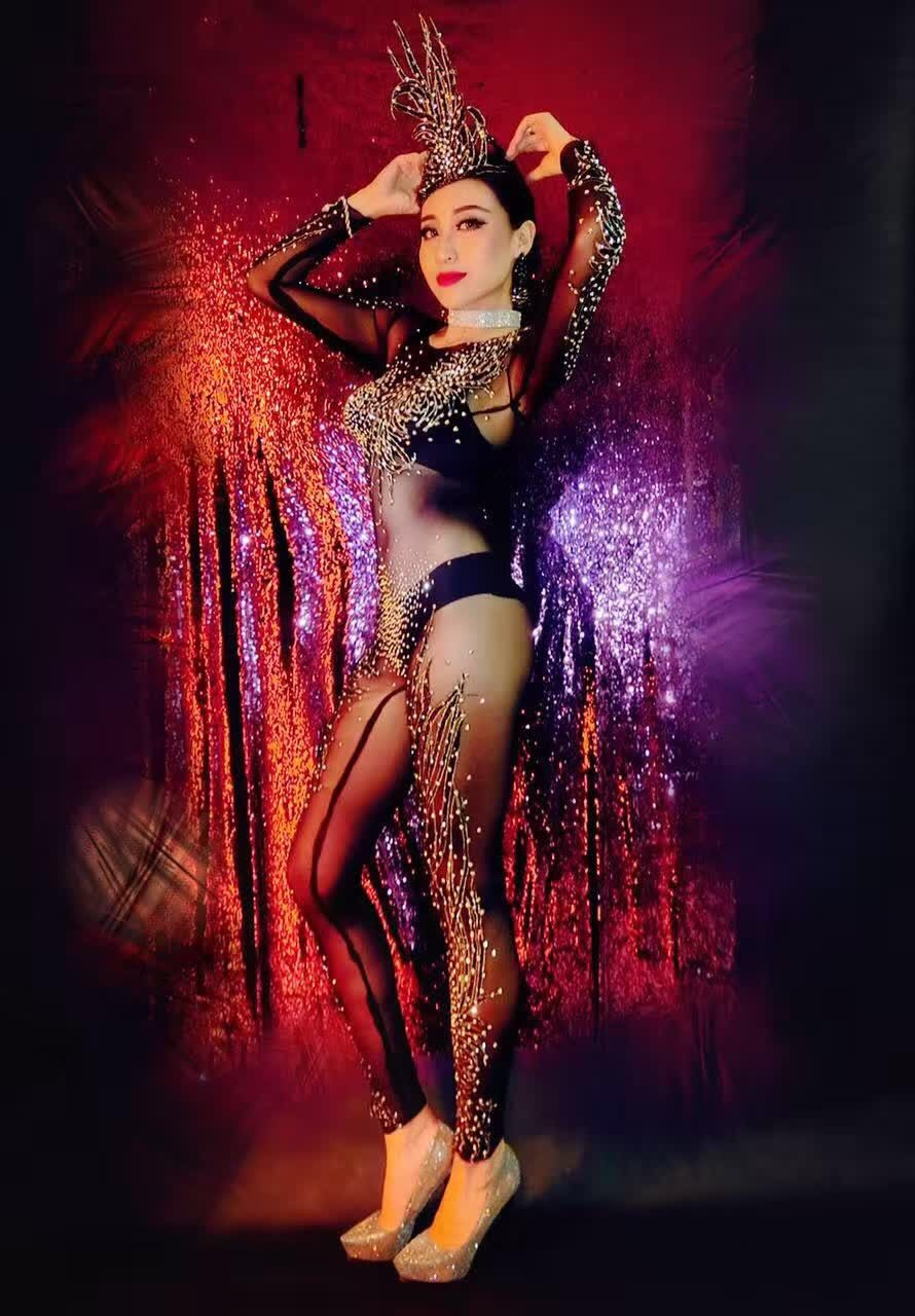 New-Nightclub-Women-s-Black-Rhinestones-Jumpsuit-Outfit-Shinny-Sexy-One-Piece-Party-Dress-Costume-With (2)