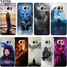 Game Thrones Coque Etui For Samsung Galaxy s8 Case S9 Plus S6 S7 Edge S10 Note 8 9 Fundas Daenerys Dragon Jon Snow Tyrion Shell