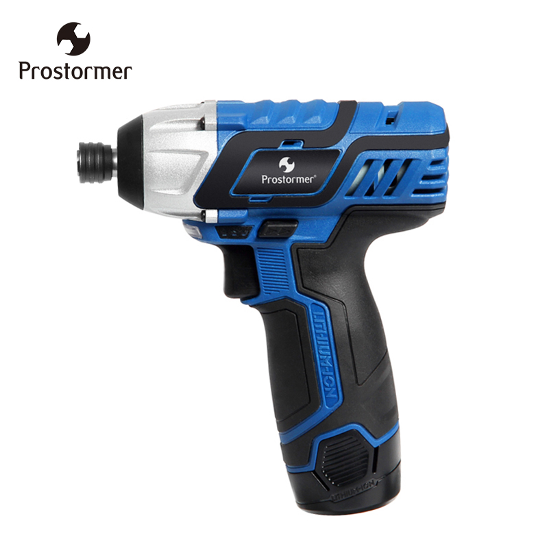 Prostormer 12V electric screwdriver hand-held cordless drill multi-function rechargeable lithium battery power tool цены