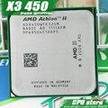 AMD Athlon II X3 450 CPU Процессор Трехъядерный (3.2 ГГц/L2 = 2 М/95 Вт/2000 ГГц) Socket am3 am2 + бесплатная доставка 938 pin продать X3 455