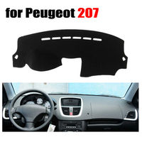 Car Dashboard Covers Mat For Peugeot 207 All The Years Left Hand Drive Dashmat Pad Dash