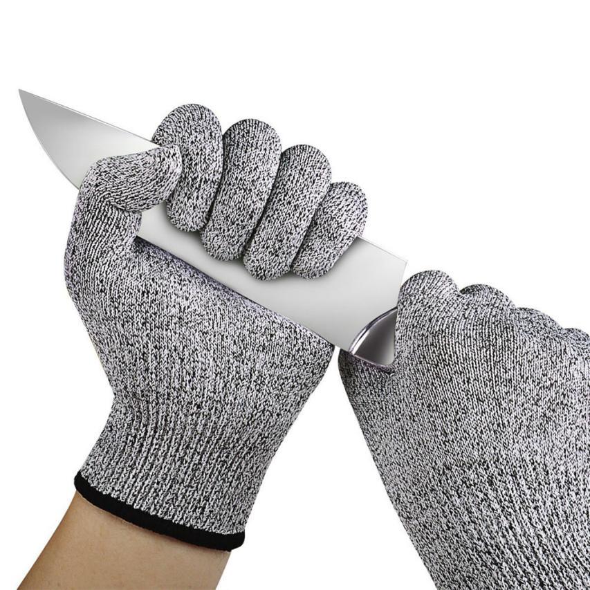 Полезная 1 пара 13 см-26 см HPPE Dowellife устойчива к порезам перчатки Еда Класс 5 уровень защиты рабочих резки