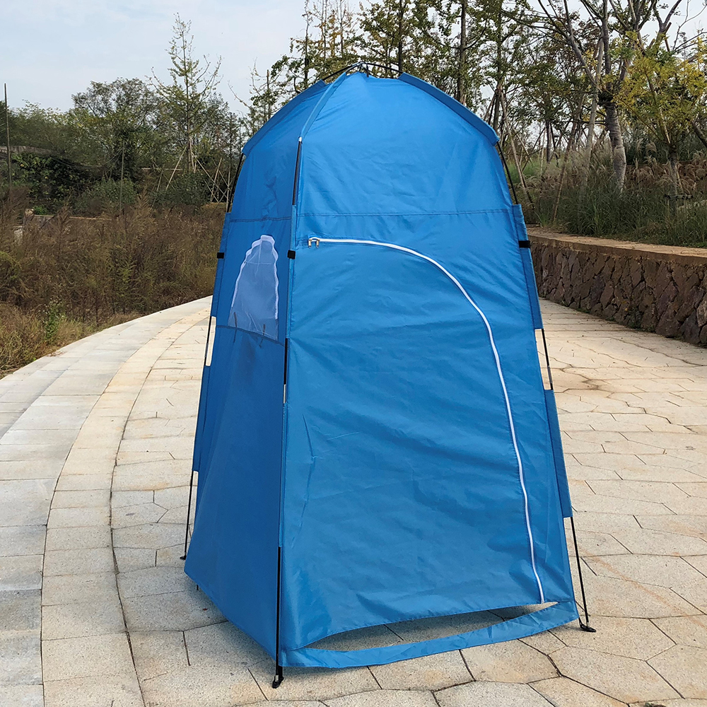 TOMSHOO Portable Camping Tent  With Large Zippered Door Used As Forest And Mountain 14