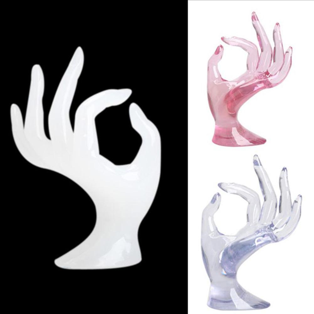 OK Mannequin Hand Bracelet Ring Watch Display Stand Jewelry Holder Prop Decor New Jewelry Organizer Holder Ring Packaging Hot Fo
