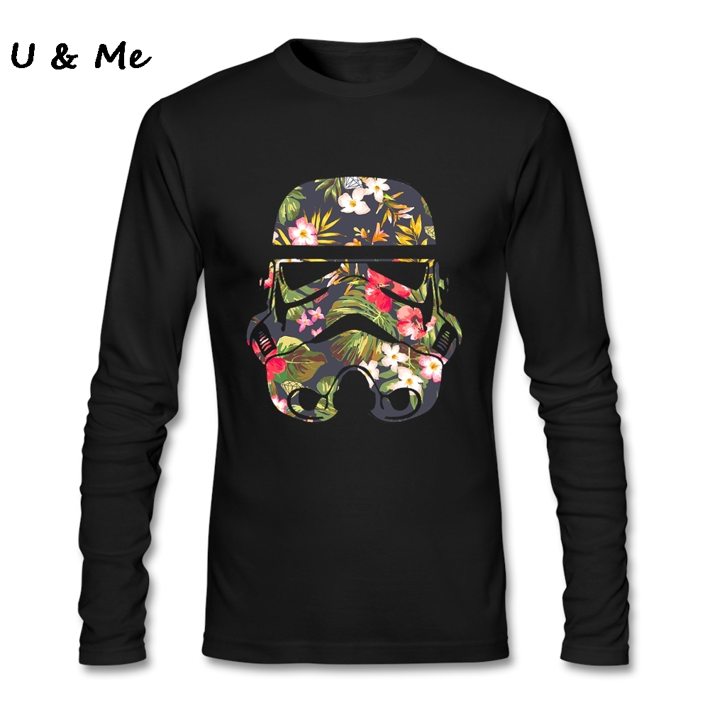 Personal Printing T Shirt Men Stormtrooper Plus Size Star Wars Hi Fashion T Shirts Clothes