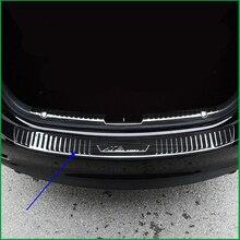 Для Mazda 6 M6 Atenza- нержавеющая сталь Задний бампер протектор Подоконник багажник задняя защитная накладка наклейка отделка автомобиля Стайлинг