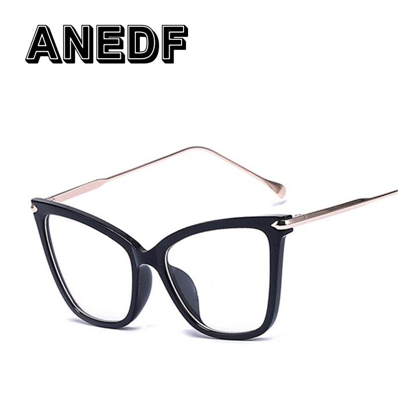 1f11fd023e ANEDF Vintage γυαλιά πλαίσια για τις γυναίκες Μάρκα μόδας Unisex ...