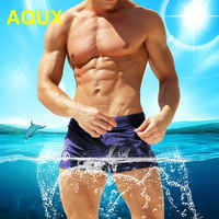 men's low Waist swimwear Surfing trunk swim short sexy personality Swimsuit male beach swimming board short men bathing slips