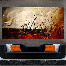 Newest Handmade Modern Picture Painting Abstract Oil Canvas beautiful Colorful picture Wall Art Home Decor