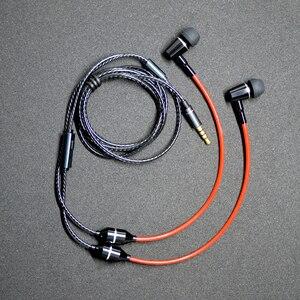 Image 5 - למעלה אנטי קרינה ב אוזן אוזניות אוויר צינור אקוסטית אוזניות מוסיקת סטריאו 3.5mm מיקרופון אוזניות הפחתת רעש לxiaomi iphone