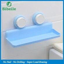 SBLE Powerful Corner Space Shelf Bathroom Shower Bath Suction Storage Holder Kitchen Sucker Organizer Holder