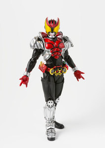 "Image 4 - 100% Original BANDAI GEISTERN Tamashii Nationen S. h. figuarts (SHF) Action Figure Masked Rider Kiva Kiva Form ""Kamen Rider Kiva"""