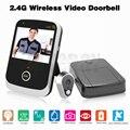 Smart Peephole Video Door Eye Camera 2.4GHz Wireless Door Bell 3.5 inch LCD Handheld Take Pic