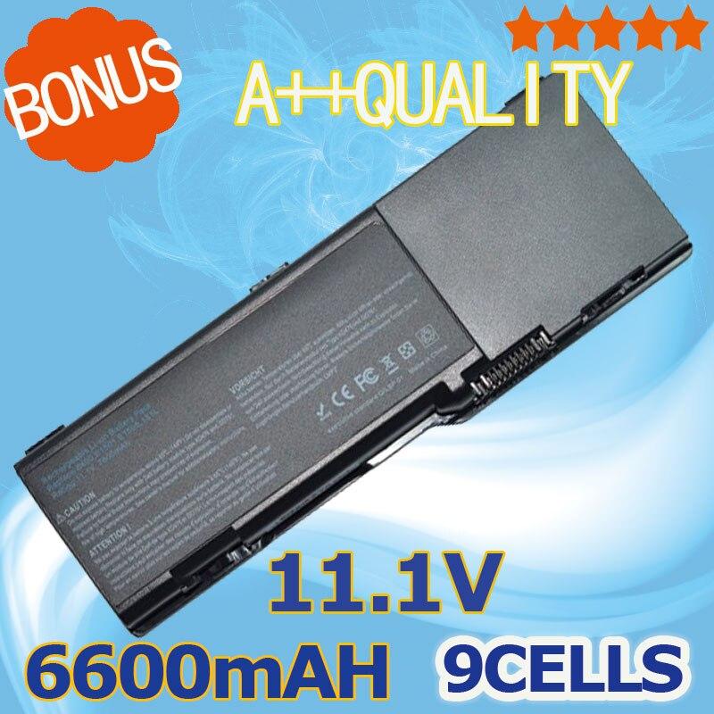 6600mAh Bateria para Dell Inspiron 1501 6400 Latitude Vostro 1000 XU937 131L E1505 UD267 UD265 GD761 JN149 KD476 PD942 UD260