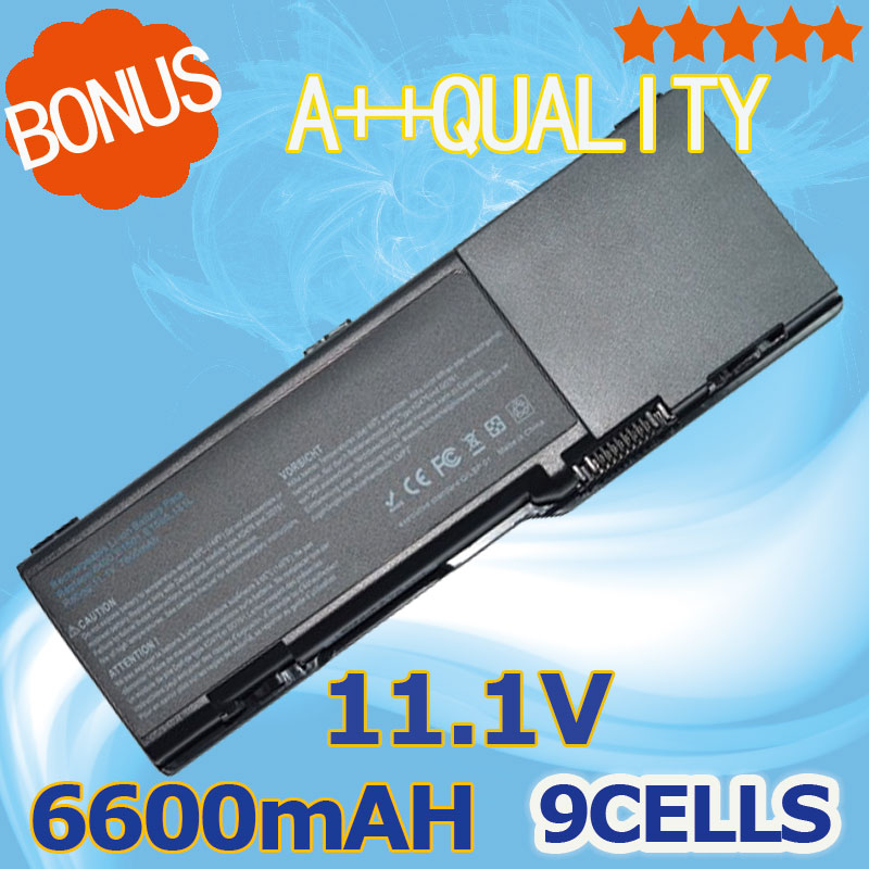 6600mAh Battery for Dell Inspiron 1501 6400 E1505 Latitude 131L Vostro 1000 XU937 UD267 UD265 GD761 JN149 KD476 PD942 UD260 9 cell 7800mah battery for dell inspiron 6400 1501 e1505 gd761 vostro 1000