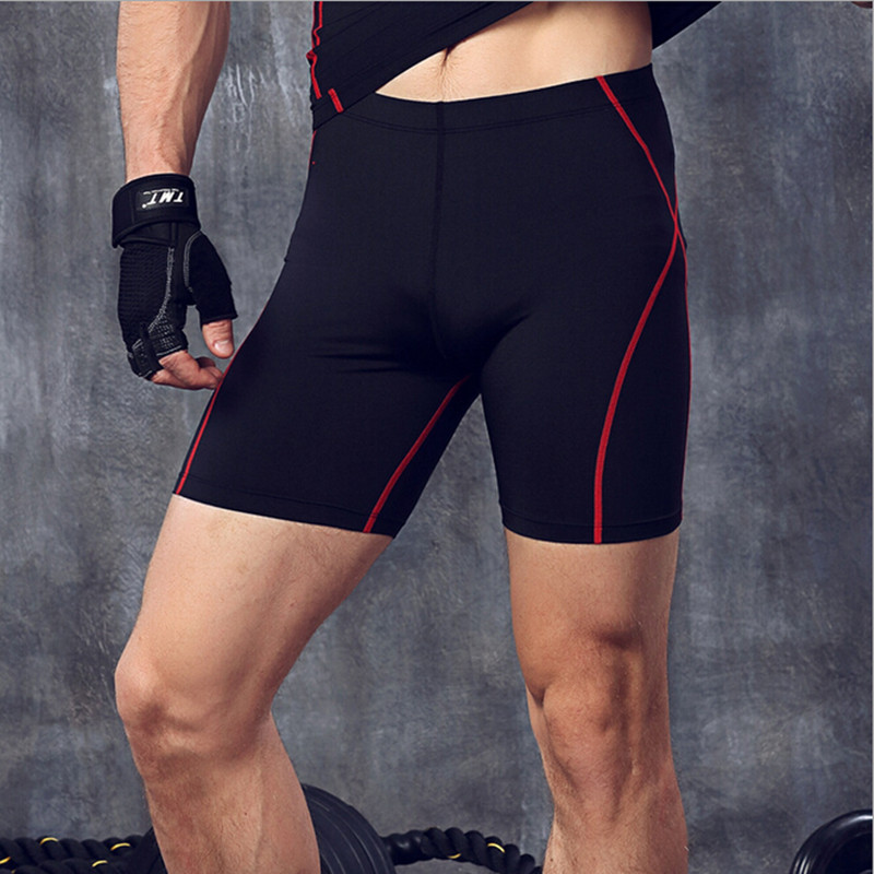 Skins Compression Shorts Men Running Training Bodybuilding Shorts For Men Polyester Skinny Workout Fitness Short Sporty Joggers