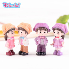 Clown Hat lover Figures DIY Toy Girl Boy Miniature wedding decoration Movie Character Birthday cake play house doll baby Gift