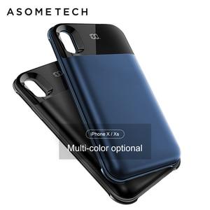 Image 2 - Bateria de carregamento sem fio de 5500mah, bateria de carregamento wireless separada para iphone xxs xr xs max de adsorção, banco de energia magnético