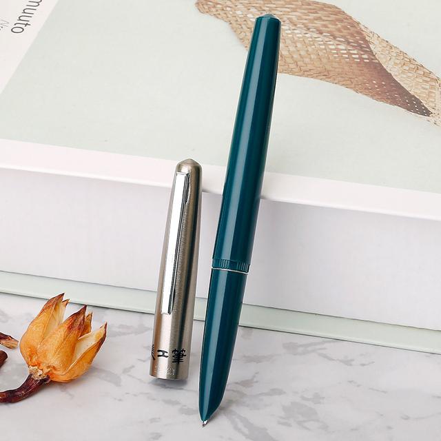 Colorful Retro Bent Nib Fountain Pen