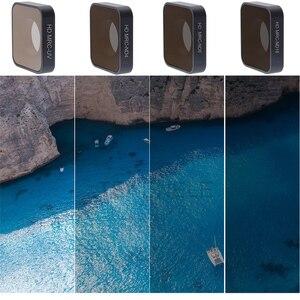 Image 3 - TENENELE GIT Pro Eylem Kamera Filtresi ND 4 8 16 Filtreler Seti GoPro Hero 6/5 Su Geçirmez lens Filtreleri hero 2018 Aksesuarları