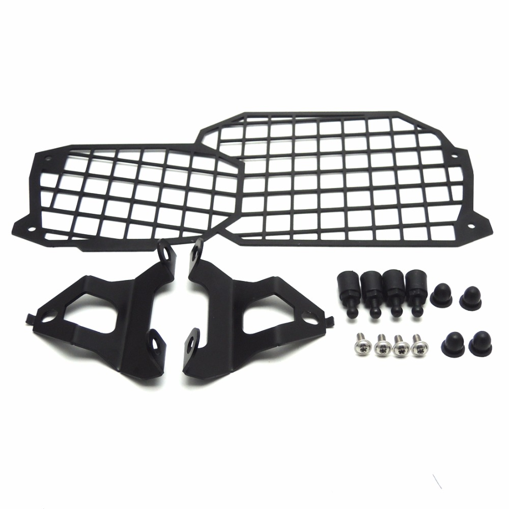 For BMW F700GS Quick Release Stainless Steel Headlight Guard Cover Protector for BMW F800GS ADV F700GS F650GS areyourshop sale rear abs sensor protective guard cover fit for bmw f800gs adv f700gs f650gs twin