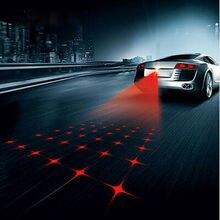 Anti Collision Rear-end Car Laser Tail 12v led car Fog Light Auto Brake auto Parking Lamp Rearing Car Warning Light For Car