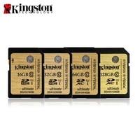 Original Kingston SDHC SDXC UHS I Class 10 Card SDA10 16GB 32GB 64GB 128GB Memory Card