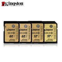Original Kingston SDHC/SDXC UHS-I Class 10 Card SDA10 16GB/32GB/64GB/128GB Memory Card SD Card Cartao De Memoria