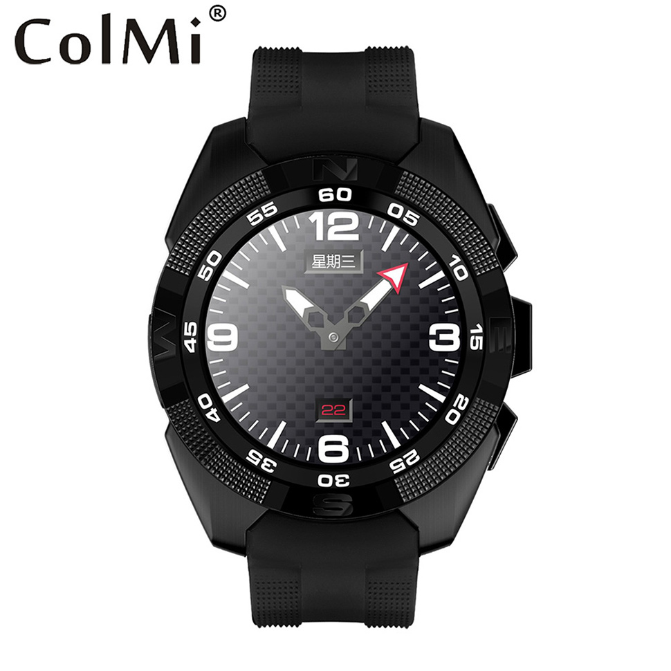 Colmi Smart Watch VS301 Heartrate Tracker Bluetooth CPU 2502C 64RAM 128ROM Push Message Connected Android iOS