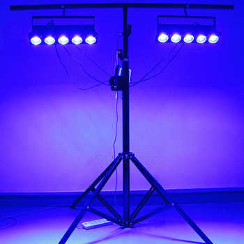 LED 5x30W RGB Matrix Lighting DMX 512 Led Lights Lamp Good for Party DJ Show Party Feature-rich, SHEHDS Stage Lighting