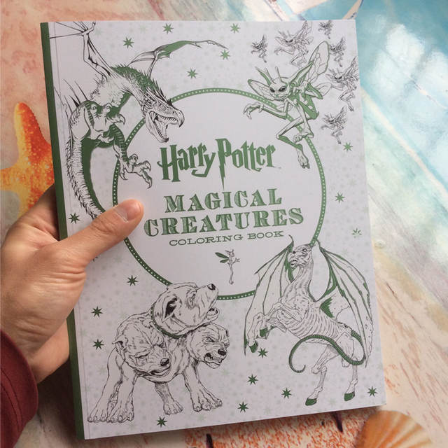 Online Shop 96 Pages Thick paper Harry Potter Coloring Book For ...