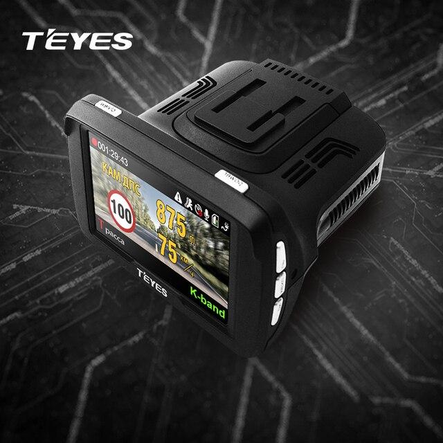 TEYES R7 car dvr radar detector gps 3 in 1 HD1296P 170 Degree Angle Russian Language Video Recorder logger free shipping