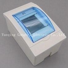 Пластиковая распределительная коробка с 2-3 способами для выключателя в помещении на стене