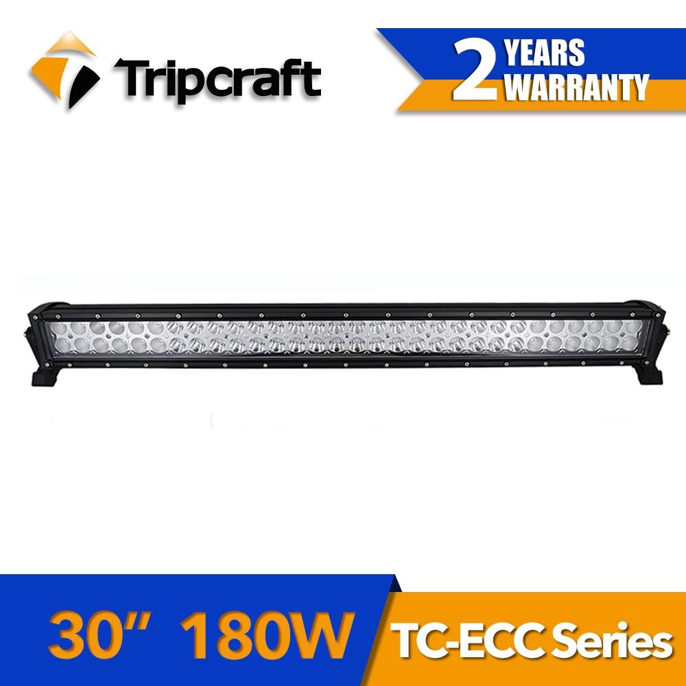 цена на Tripcraft High performace off road led light bar, 180w 30inch off road led light bar for trucks,atvs,auto parts