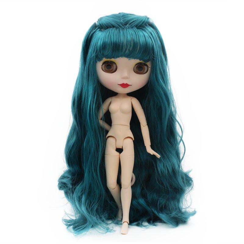 Blyth Bambola BJD Neo Blyth Bambola Nuda Su Misura Glassato Viso Bambole Può Cambiare di Trucco e Vestito FAI DA TE 1/6 Snodato Palla bambole