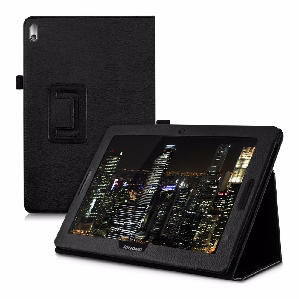 Case Cover For Lenovo A7600 Flip PU Leather Case Cover Protective Case For Lenovo tab a10-70 a7600 Tablet Fundas Case Cover case for tab2 a10 70 tablet 10 1 smart flip leather protective case cover funda for lenovo tab 2 a10 70 stylus pen film