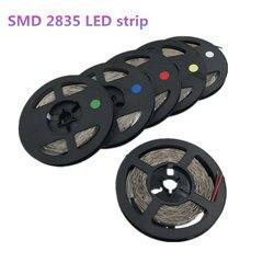 5 m 300leds 2835smd led strip alto brilho não impermeável dc 12 v 60 leds/m diodo fita super brilhante do que 3528 led tira de luz