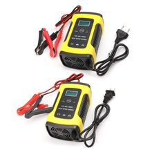 New 1 Set Multifunction DC 12V 6A LCD Repair Battery Charger Lead-Acid Power Storage Chargers For Vehicle Car Motorcycle