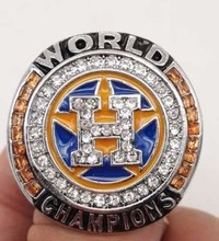 BIFAJAJA New Arrival Drop Shipping 2017 Houston Astros Major Baseball Championship Ring Size 11(China)