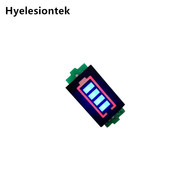 1S 2S 3S 4S Series Lithium Battery Capacity Indicator Module Blue Display  For Electric Vehicle Battery Power Indicator lipo1S 2S 3S 4S Series Lithium Battery Capacity Indicator Module Blue Display  For Electric Vehicle Battery Power Indicator lipo