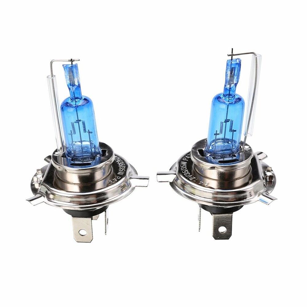 2pcs For Auto Headlight HID Headlight 6000K H4 12V/35W Xenon Supper White Auto Light Bulb Headlight Bulb  Car Xenon Halogen Bulb