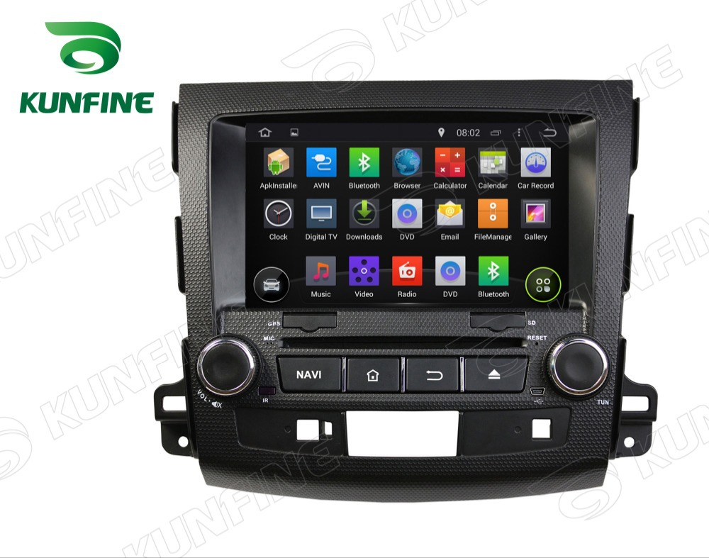 Quad Core 1024 600 Android 5 1 Car DVD GPS Navigation Player for OUTLANDER 2006 2012