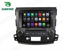 4 ядра 1024*600 Android 5.1 автомобильный DVD GPS навигации плеер для Outlander 2006-2012 GPS Радио 3 г Wi-Fi Руль управления