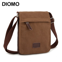 DIOMO Small Canvas Men   Bag   Messenger   Bag   Business Casual Crossbody   bag   male shoulder   bags