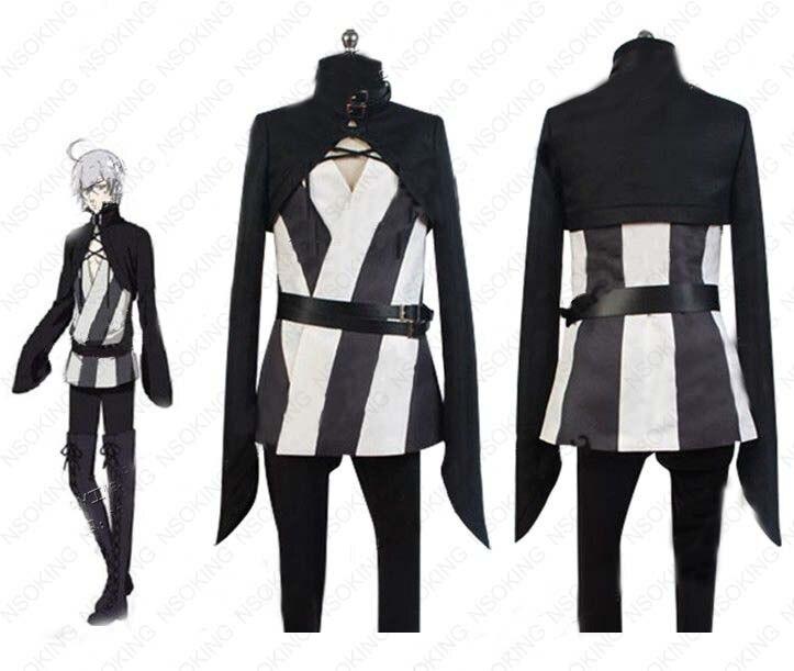 Anime Black Butler Snake Cosplay Kuroshitsuji circus troup Costume Tailor Made