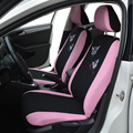 Butterfly Embroidery Car Seat Cover Universal Fit Most Car Covers Pink Car Styling cute Interior Accessories Seat Covers For vw