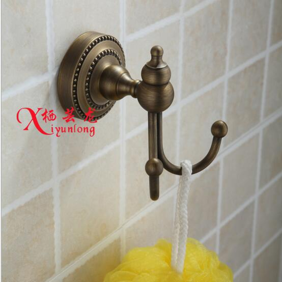 European Bathroom Accessories Factory Whole 100 Copper Antique Hook Coat Hooks Wall Hanger In Robe From Home