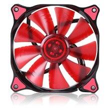 Высокоскоростной 4pin RGB компьютерный корпус охлаждающий вентилятор светодиодный ПК башня кулер корпус вентилятора cooing Электронное охлаждение для процессора