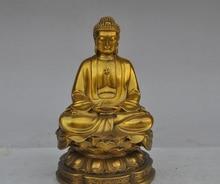 "8 ""el tíbet budismo fane brass Joss Shakyamuni Tathagata sakyamuni buda estatua"