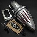 Reposição frete grátis peças da motocicleta de Ar kits Cleaner filtro intake para Kawasaki Todos Vulcan 2000 Clássico LT CHROME